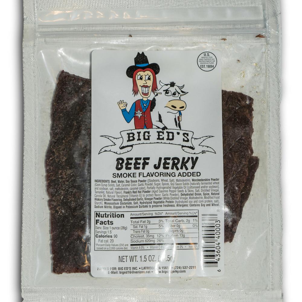 1.5 snack size beef jerky